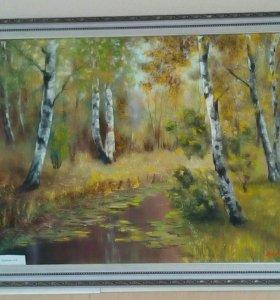 Картина маслом 50х70 в раме