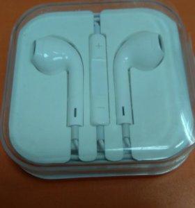 Гарнитура наушники EarPods
