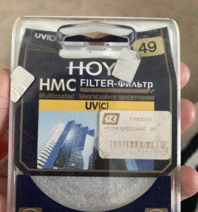 Новый Светофильтр для фотоаппарата 49mm