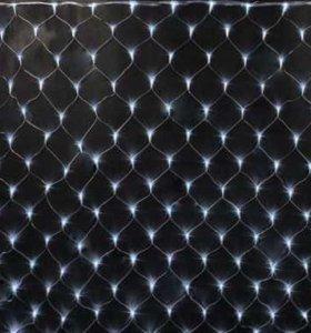 Светодиодная гирлянда LED СЕТКА