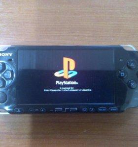 PSP PlayStation прошитая + 2 гига флешки