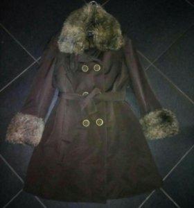 Зима пальто пуховик курткаMango