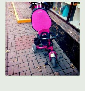 Велосипед детский, трехколёсный.