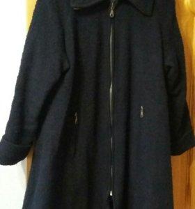 Пальто осень 54-56р