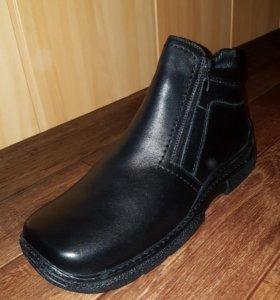 Ботинки зимние мужские новые