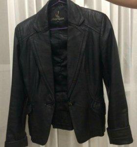 Куртка-пиджак.нат.кожа