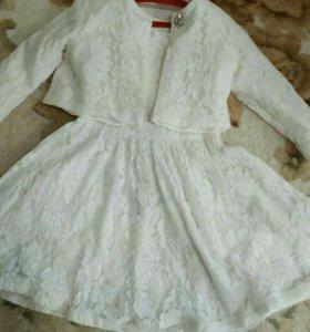 Костюм платье и балеро