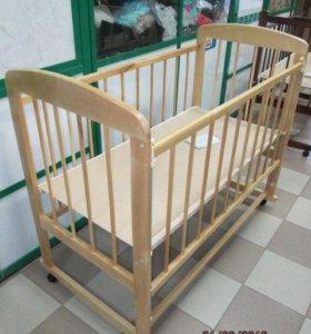 кроватка детская новая