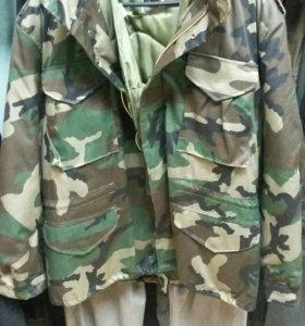 Зимняя куртка М65.