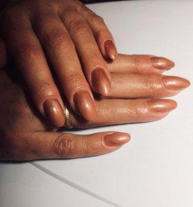 Наращивание ногтей,шеллак