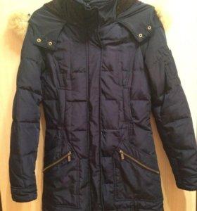 Зимняя куртка пуховик парка зара