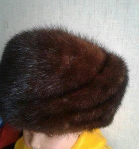 Женская норк шапка