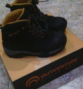 Ботинки утепленные outventure для мальчика