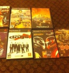 Диски на Playstations 2
