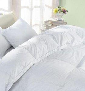 Подушки, одеяла, постельное, новое