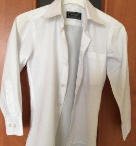 Рубашка белая 104-110
