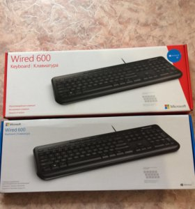 Клавиатура wired keyboard 600
