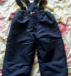 Зимние штаны на мальчика