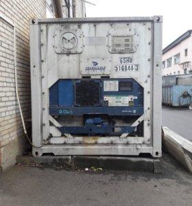 промышленный морозильный контейнер