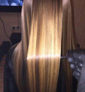 Кератиновое выпрямление волос, ботокс