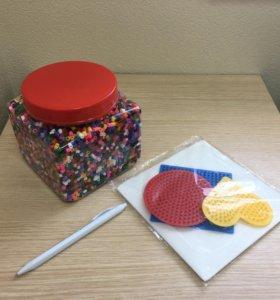 Крутой Подарок ребенку: ТермоМозаика + 4 пластины