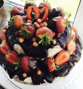 Выпечка тортов, десертов