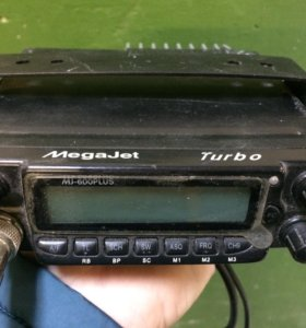 Рация Megajet 600 turbo plus +две антенны