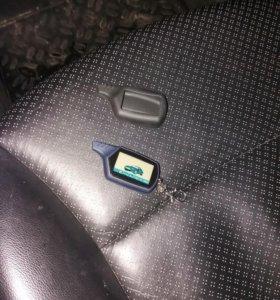 новый брелок автосигнализации А 91 с чехлом