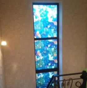 Витражные пленки на окна