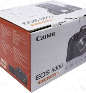 Новый Canon 600D Kit 18-55 IS II