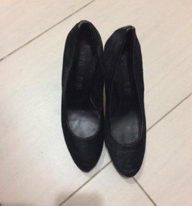 Пржам туфли на каблуке
