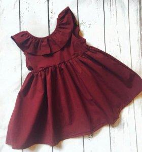 Красивое детское платье! Новое!