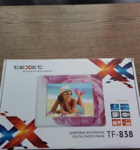 Цифровая фоторамка texet TF - 838.