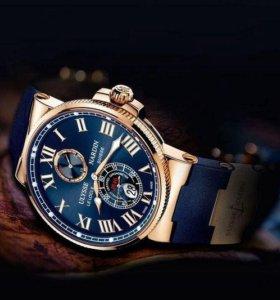 часы механические Ulysse Nardin+Patek в подарок
