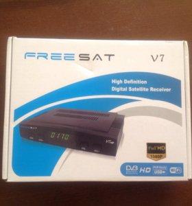 Новый спутниковый ресивер HD tv+USB WiFi адаптер