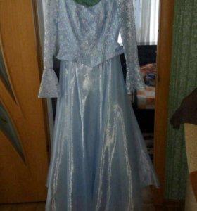 Платье бальное. Костюм мальвина