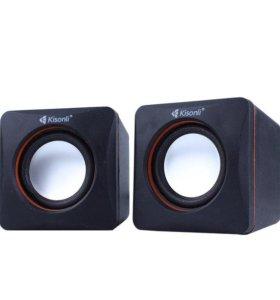 Акустические колонки KISONLI V400 черный