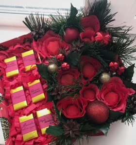 Сладкий новогодний подарок