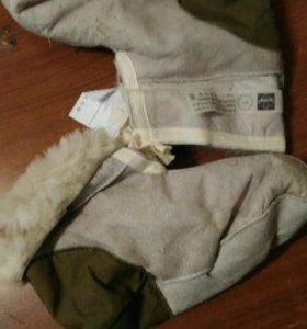 Носки меховые.