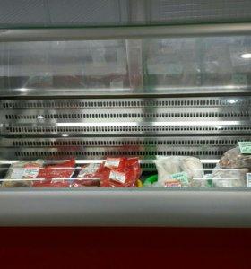 Витринный холодильник-морозилка