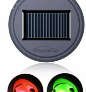 Подсветка на солнечной батареи подстаканика авто