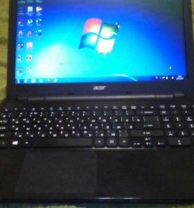 Ноутбук aser с проц i3.