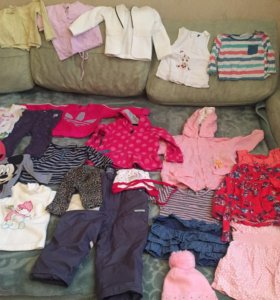 ‼️СРОЧНО‼️ Огромный пакет одежды на девочку 1-2лет