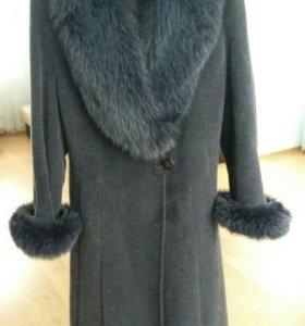 Кашемировое пальто (зимнее)