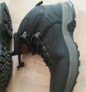 Ботинки зимн.натуральные