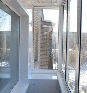 Окна  от производителя.Натяжные потолки
