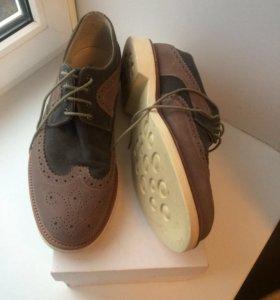 Туфли мужские  Натур замш