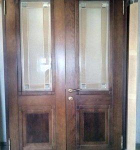 Двери дубовые