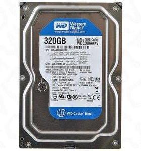 Продам жесткий диск 320gb