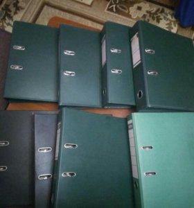 Канцелярские папки-регистраторы